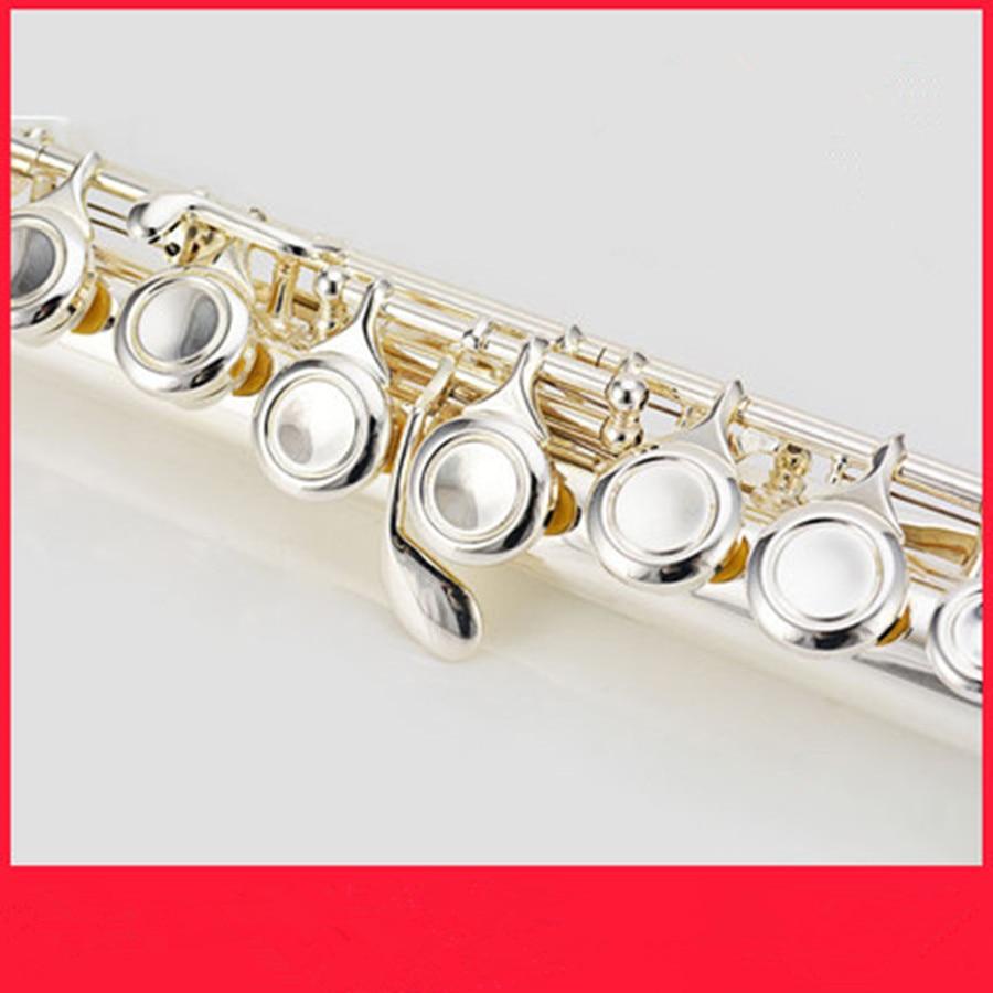 Флейта высокого качества, японская флейта, музыкальный инструмент 211SL, флейта на C и 16 Ключ, флейта, мелодия, музыка, профессиональная Серебряная флейта