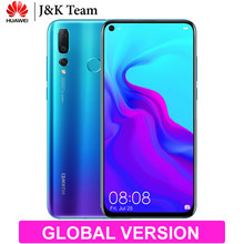 Huawei Nova 4 Global Version OTA Update 8GB 128GB Triple Camera Mobile Phone Android 9.0 6.4 inch Screen 3750mAh Smartphone(China)