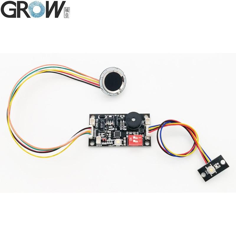 GROW K200-3.3+R502 New Multi-function Fingerprint Door Access Control Board+R502 Fingerprint Module