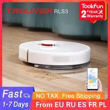 Trouver finder rls3 robô aspirador de pó para casa varrendo poeira esterilizar lavagem mop xiaomi mijia app wifi lds inteligente planejado