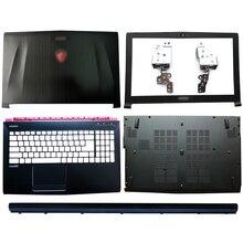 الكمبيوتر المحمول LCD الغلاف الخلفي/الإطار الأمامي/مفصلات/مفصلات غطاء/Palmrest/غطاء سفلي ل MSI GE62 GE62MVR GE62VR MS 16J1 MS 16J2 MS 16J3