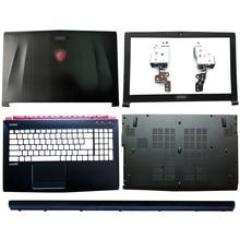 Laptop LCD Back Cover/Front Bezel/Hinges/Hinges Cover/Palmrest/Bottom Case For MSI GE62 GE62MVR GE62VR MS-16J1 MS-16J2 MS-16J3