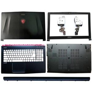 Image 1 - Écran LCD pour ordinateur portable, coque arrière, lunette avant, charnières/accoudoir, boîtier inférieur pour MSI GE62 GE62MVR GE62VR, MS 16J1, MS 16J2, MS 16J3