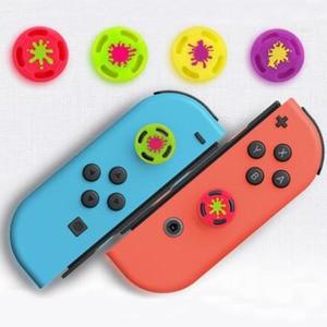Image 4 - Silicone Thumb Stick Grip Caps Analog Joystick Cover Case For Zelda Mario Nintend Switch NS JoyCon Controllers Joy Con Joypad