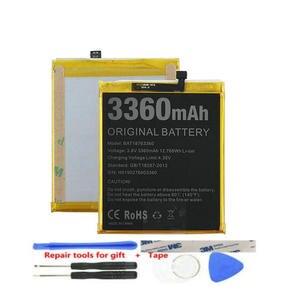 Для Doogee N10 оригинальный аккумулятор 3360 мАч Замена повторного зарядного устройства мобильного телефона большие батареи протестированы Для ...
