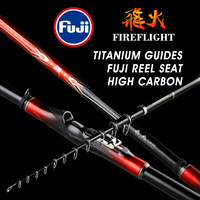 Japanese import High carbon fiber ultra light super hard reef rock fishing rod 4m5m Fuji wheel seat Hand Carp Blackbird Soft Rod
