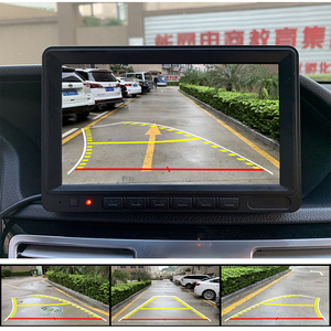 Image 5 - HD 170 Angle Fisheye Lens Dynamic Trajectory Parking Line Car Rear View Reverse Backup Camera For Vehicle Parking Monitor