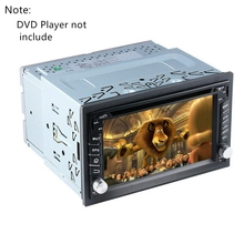 2Din Fittings Kit Radio Head Unit Installatie Frame Algemene 2Din Fittings Kit Automotive Radio Player Box