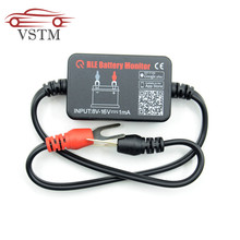 VSTM Real Time Car Battery Tester BM2 Battery Detector 12V Bluetooth 4.0 Battery Monitor Diagnostic Tool For Android IOS Iphones