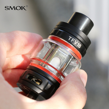 SMOK – Cigarette électronique TFV18, réservoir de 7.5ML, accessoires, atomiseur, maille double maille, bobine RBA, pour Morph 2