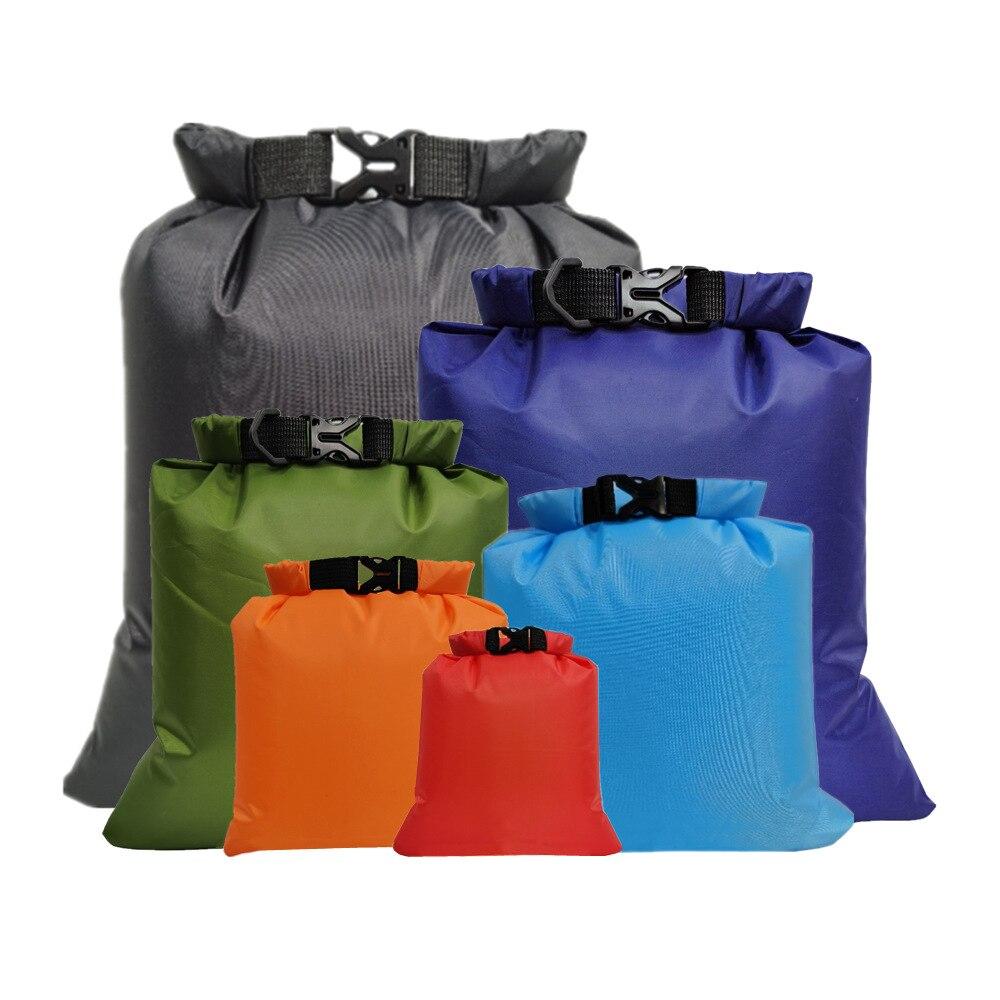 6 Pcs Outdoor Waterdichte Tas Dry Sack Voor Drifting Varen Drijvende Kajakken Strand