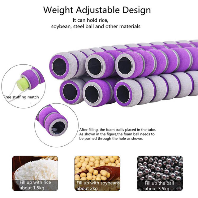 Detachable Sport Hoop Weighted Hola Hoop Adjustable Thin Waist Trainer Massage Hoop Exercise Fitness Eqiutpment Dropshipping 5