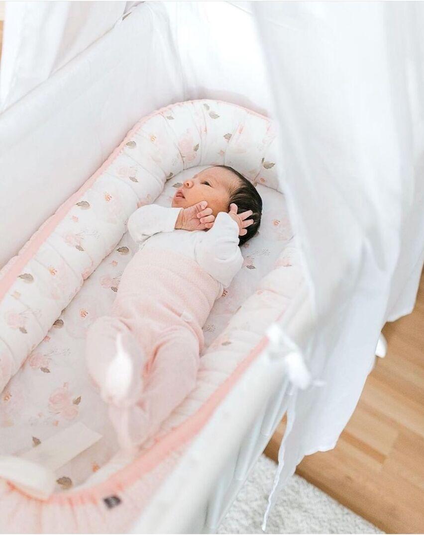 Lit bionique en coton américain | Résistant à la pression, pour bébé, Portable, amovible et lavable, nouveau, en vogue