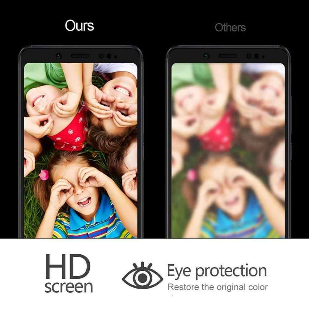 9H 2.5D tüm tutkal tam kapak temperli cam Xiaomi Redmi 5 için Explorer ekran koruyucu için Xiaomi Redmi5 koruyucu cam filmi