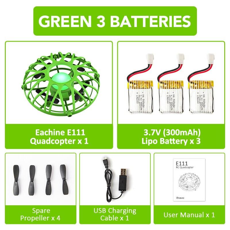 Green 3 Battery