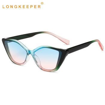 2020 New Cat Eye Sunglasses Women Brand Designer Luxury Gradient Lens Sun Glasses Ladies Vintage Shades UV400 Oculos Feminino мужские солнцезащитные очки brand new 2015 uv400 oculos gafas feminino sg02