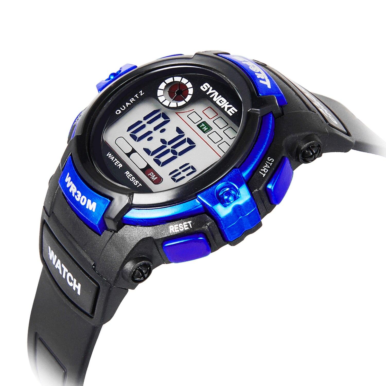 ПАНАРЫ многофункциональные дети дети часы светящиеся водонепроницаемые спортивные часы анти-шок дети% 27s цифровые часы часы подарок