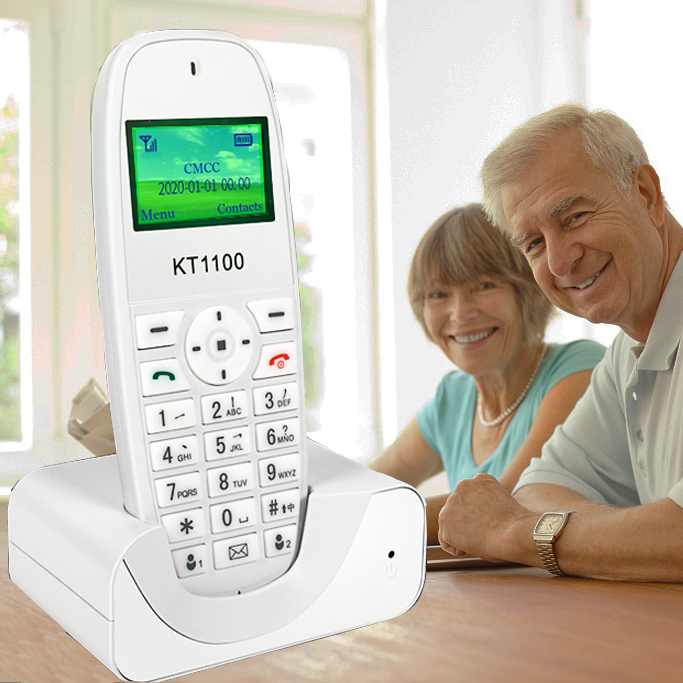 cordless phone GSM 900 1800 MHz Support SIM Card Fixed Phone white Landline Phone Fixed Wireless Telephone home office house