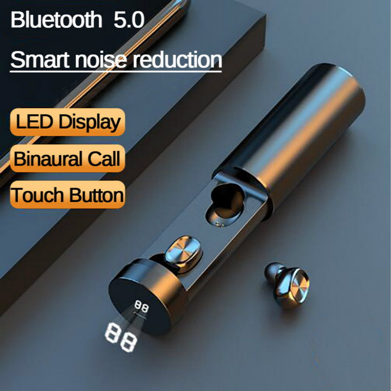 B9 TWS Bluetooth Earphone 5.0 Wireless 8D HIFI 1