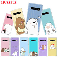 We Ice Bare Bears Cover Phone Case for Samsung Galaxy S10 Plus S10E Lite A50 A70 A30 A10 A20E M20 M10 A20 A80 A40 Shell(China)
