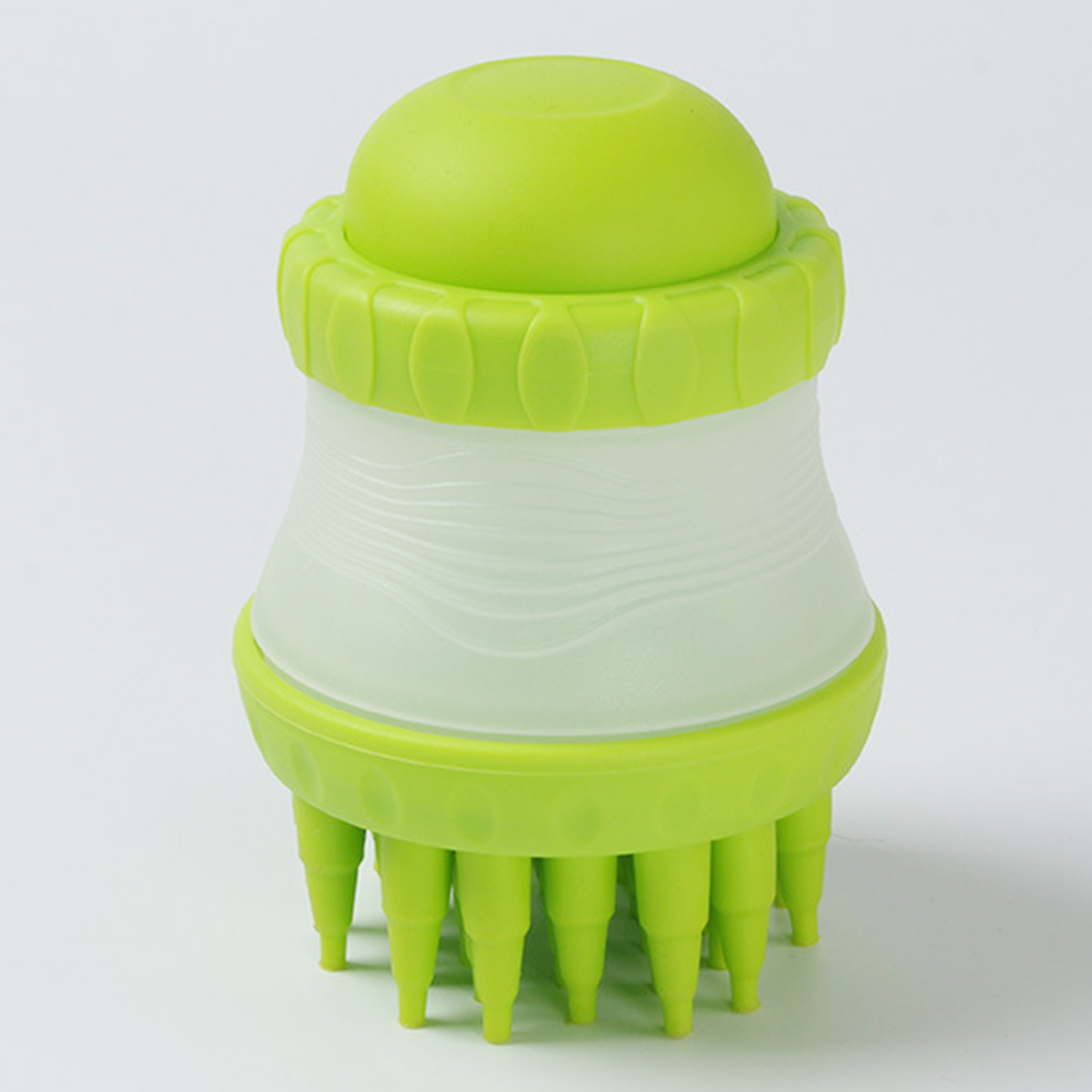 Уход за домашними животными Ванна силиконовая Массажная кисть для волос кошка Чистящая Скоба для переплета душ собака