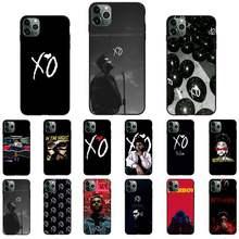 O weeknd starboy pop cantor xo caso de telefone para iphone 11 12 mini pro xs max 8 7 plus x xs xr