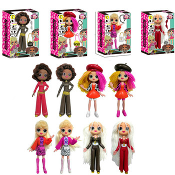 New Surprise Doll Blind Box IQL Omc Girl Fashion Doll Toy Dress Up Toy  Toys for Children dolls for girls  random style colour colour blind