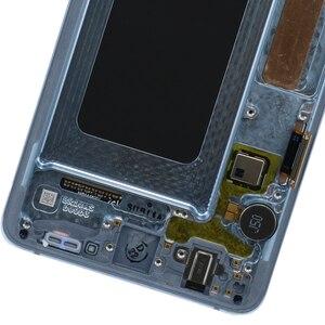 Image 4 - 3040x1440 Original AMOLED 6,4 S10 PLUS LCD Für SAMSUNG Galaxy S10 + SM G9750 G975F Display Touchscreen digitizer Ersatz