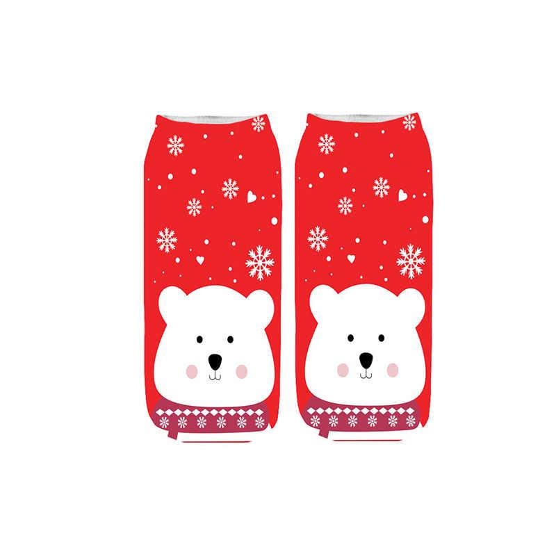 Cắm Trại Vớ Nữ Mùa Đông Ấm Quà Tặng Giáng Sinh Stereo Tất Mềm Mại Dễ Thương Ông Già Noel Hươu Tất Xmas Vớ Giáng Sinh Dễ Thương