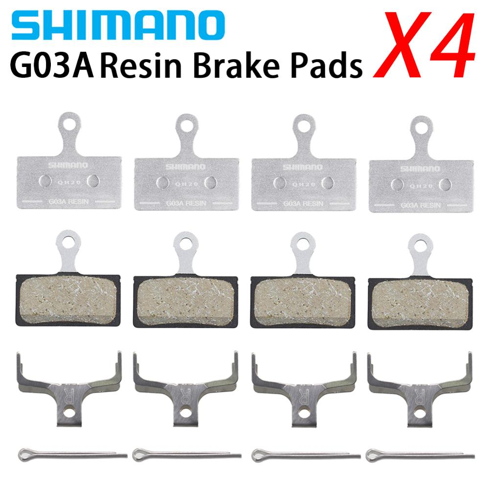 SHIMANO G03A RESIN COMPOUND DISC BICYCLE BRAKE PADS