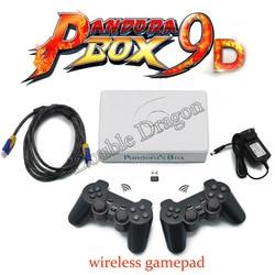 Hot Hot Pandora Box 9D 2500 in 1 Motherboard 2 Spieler Wired Gamepad/Wireless Gamepad Set USB Verbinden Joypad 3D Spiele Tekken