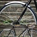 Fixe Fahrrad Kotflügel Silber 1 Paar Vorne und Hinten Retro 700C Straße Fahrrad Fender Fahrrad Praktische Teile