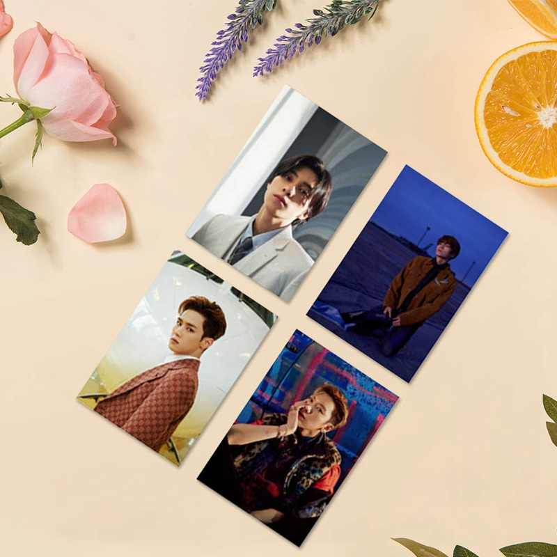 10 unids/set KPOP NCT WAYV Mini Album despega con el mismo párrafo LOMO Polaroid tarjeta Photocard Dropshipping