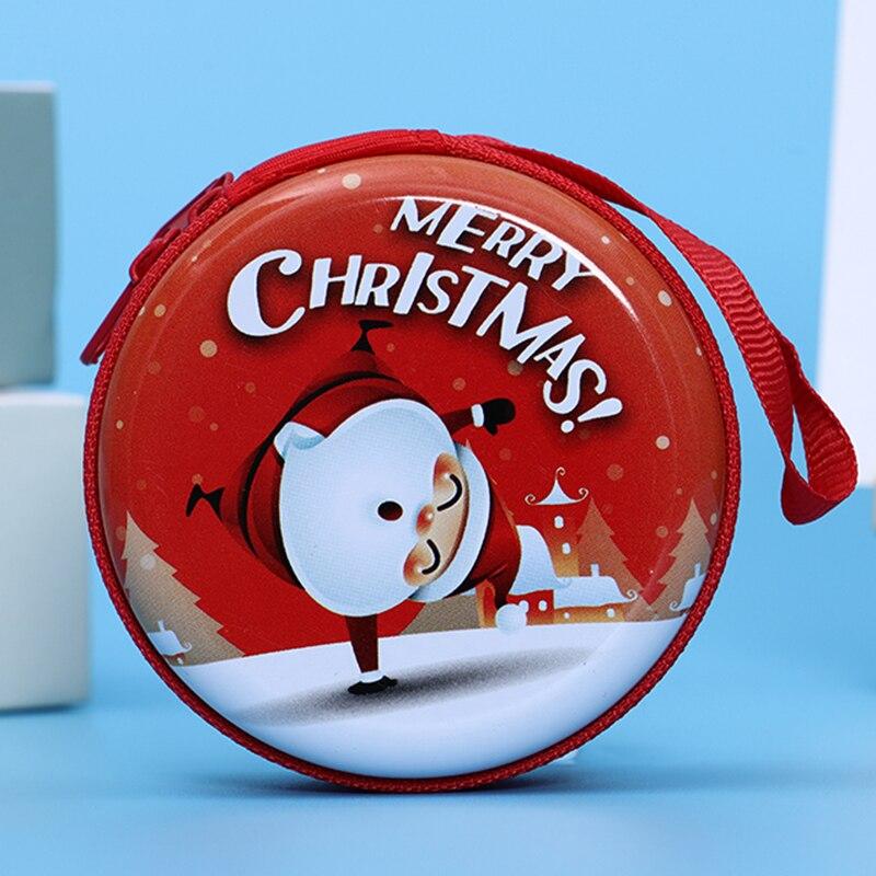 Лидер продаж, кошелек для монет с героями мультфильмов, Эльза, Анна, принцесса, чехол для ключей для девочек, кошелек, детский Снежная королева, гарнитура, сумка для монет - Цвет: Christmas2