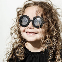 OLOEY Sun Flower Round Cute Kids Sunglasses UV400 Boy Girl P