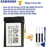Samsung Bateria Para Samsung Engrenagem S2 3G R730 SM-R600 SM-R735 SM-R730S SM-R735T S3 SM-R760 S2 Clássico R720 R732 S4 SM-R800 R805