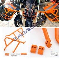 For KTM 1290 Super Adventure S R 1050 1090 1190 Adv 2013 2019 Upper Crash Bars Engine Guard Bumper Stunt Cage Frame Protector