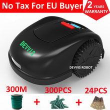 Two Year Warranty DEVVIS 5th Generation Grass Mower Robot Lawn Mower E1600T For Big Lawn,Gyroscope Navigation,Smartphone WIFI