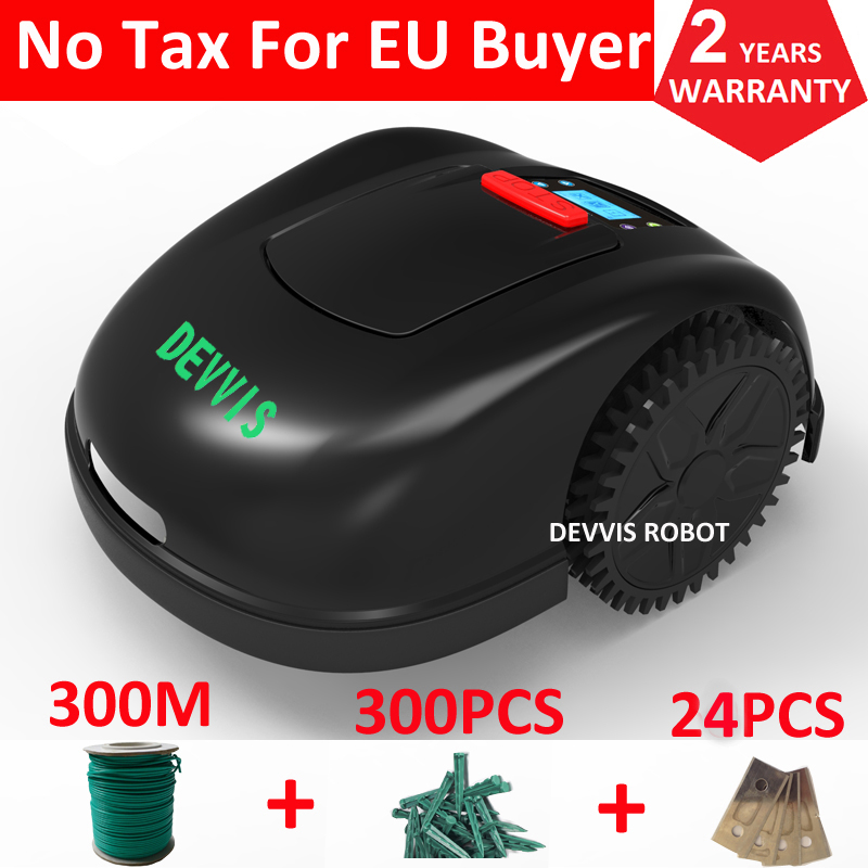 Two Year Warranty Newest DEVVIS 5th Generation Grass Mower Robot Lawn Mower E1600T For Big Lawn