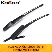 KOSOO for Audi Q7 4L1955407A 4L1955408B 2007-2016 Car auto parts Front left Right Windshield Windscreen Wiper Arm Replacement cheap 2014Year 2015Year 2016Year 2017Year 0 85kg 6 5cm 4L195507A Spain GERMANY Italy United States United Kingdom France Canada