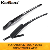 KOSOO for Audi Q7 4L1955407A/4L1955408B 2007 2016 Car auto parts Front left/Right Windshield Windscreen Wiper Arm Replacement