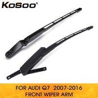 KOSOO para Audi Q7 4L1955407A/4L1955408B 2007-2016 autopartes delantero izquierda/derecha parabrisas brazo de repuesto