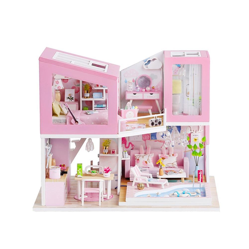 H0cc83c24e1044a37bce91680adc4e2ca9 - Robotime - DIY Models, DIY Miniature Houses, 3d Wooden Puzzle