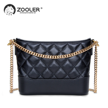 ZOOLER New tote shoulder Bags type women famous brands 2019 genuine leather bag woman Messenger bags purses bolsa feminina MD201 цена