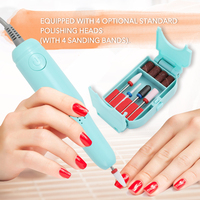 High Speed Professional Electric Nail Art Drill Pen Pedicure Nail Polish Tool Feet Care Manicure Machine Pedicure Accessories