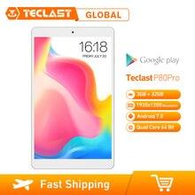 Teclast P80 Pro Aggiornato Android 7.0 MTK8163 Quad Core da 1.3GHz 3GB di RAM 32GB di ROM Tablet PC Dual wiFi/Camera 1920*1200 GPS HDMI