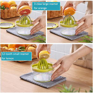 Image 5 - NTONPOWER 4 in 1 Multifunctional Lime Squeezer Manual Juicer with Multi Size Reamers Ginger Garlic Grater Kitchen Accessories