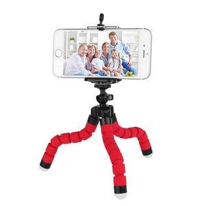 Image 1 - Uchwyt na telefon elastyczna gąbka Octopus uchwyt na statyw Selfie rozszerzający uchwyt na stojak do iphonea Samsung Gopro uchwyt na klips do aparatu