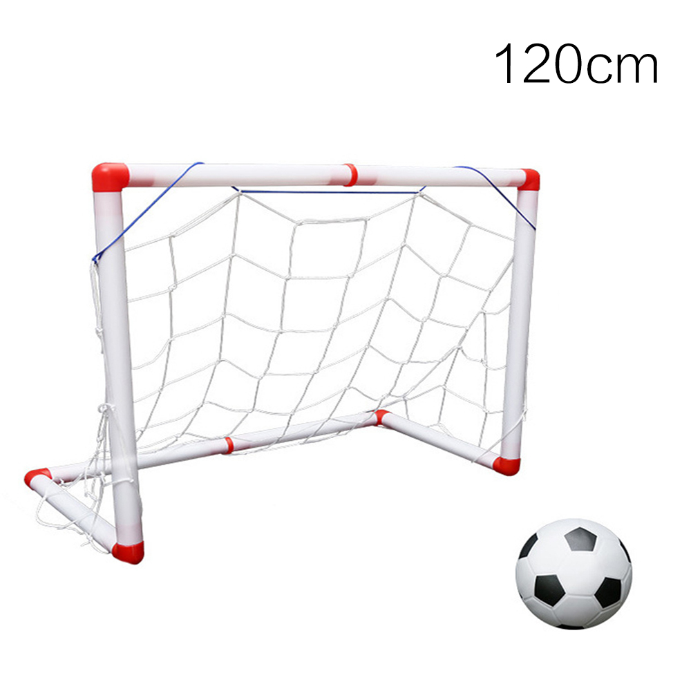 DIY Children Sports Soccer Goals 120CM Football Gate Practice Scrimmage Game Football Goal Net Kids Indoor Outdoor Play Toy