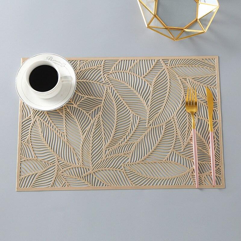 Posavasos de PVC para mesa de cocina, individual, individual, para mesa, posavasos de Navidad, 1 Uds.|Tapetes y cojines|   - AliExpress